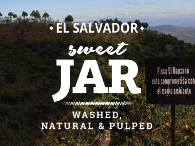 EL SALVADOR COFFEE - SWEET JAR - WASHED, NATURAL & PULPED